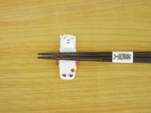 5色くま(赤) 箸置き