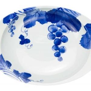 ぶどう・カレー皿