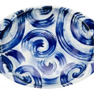 潮流・カレー皿