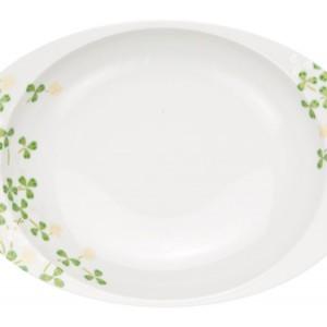 クローバー・カレー皿