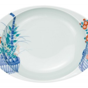 花篭・カレー皿