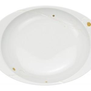 樹氷・カレー皿