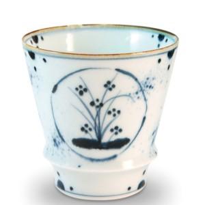 川のほとり・焼酎グラス