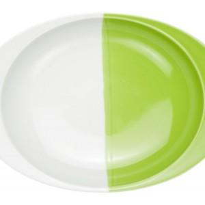 キウイ(大)・カレー皿