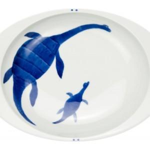 プレシオサウルス(大)・カレー皿