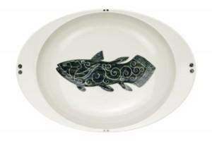 シーラカンス(大)・カレー皿
