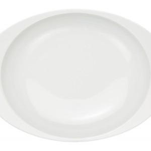 白磁(大)・カレー皿