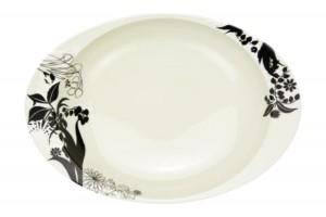 シルエット(小)・カレー皿