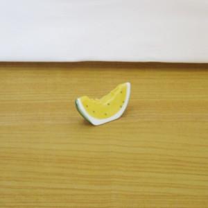 すいか(黄) 箸置き