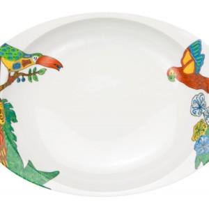 タヒチ・カレー皿
