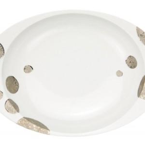 月のしずく・カレー皿