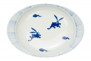 うさぎ(大)・カレー皿