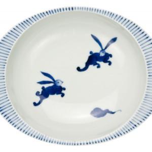 うさぎ(小)・カレー皿