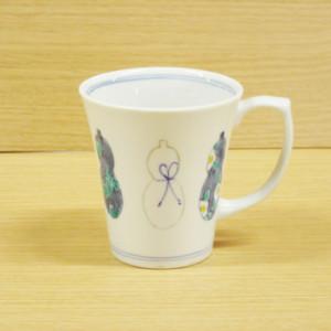 ひょうたん(青)・マグカップ