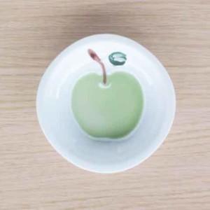 りんご(緑)・取皿