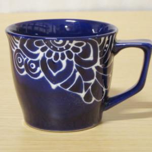 シノフラワー(青) マグカップ