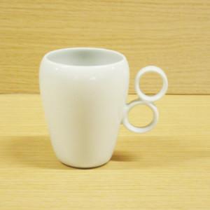 ダブルリング(白)・マグカップ