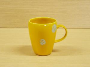 プラチナドット(黄)・マグカップ