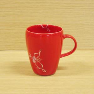 ローズ(赤)・マグカップ
