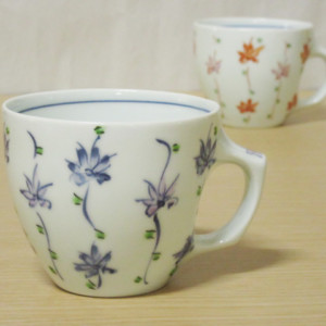 花のれん マグカップ(青)