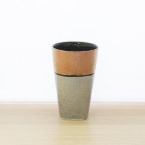銅銀角高台フリーカップ