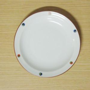 錦点彩 6寸皿