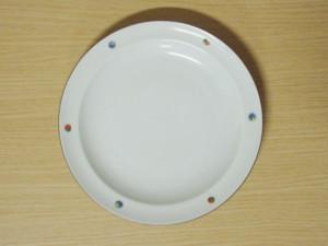 錦点彩8寸皿
