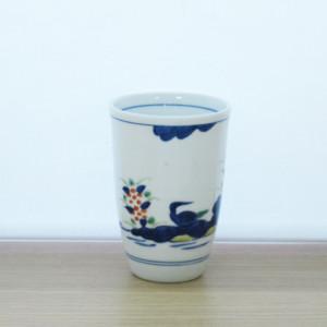 錦花鳥流水フリーカップ