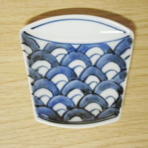 青海波 そば猪口型小皿