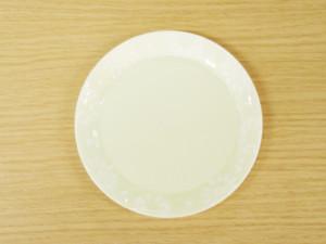 フラワーサークル 4寸丸プレート(黄)