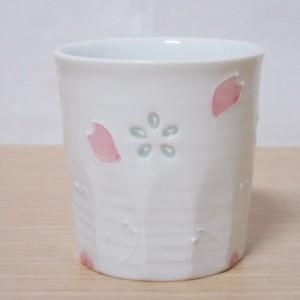 クリスタル桜 フリーカップ (ピンク)