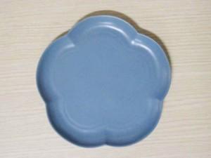フロール アプリコットプレート(M) イブニングブルー