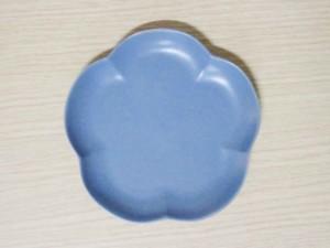 フロール アプリコットプレート(S) イブニングブルー