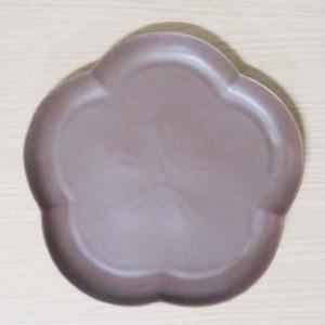 フロール アプリコットプレート(L) ショコラブラウン