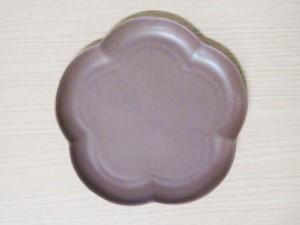 フロール アプリコットプレート(M) ショコラブラウン