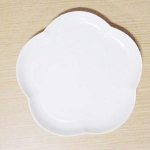 フロール アプリコットプレート(L) シルキーホワイト