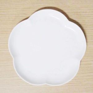 フロール アプリコットプレート(M) シルキーホワイト