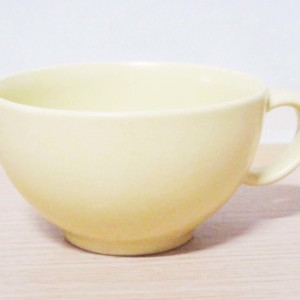 フロール ラテ&スープカップ レモンイエロー