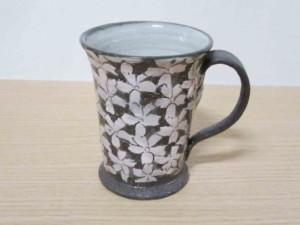 黒土桜(ピンク) マグカップ