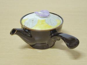 彩椿(黄紫) 急須