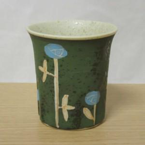 メルヘン(緑) 十角コップ