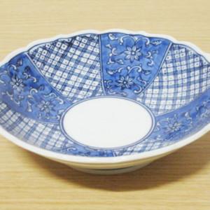 唐草地紋 多用鉢