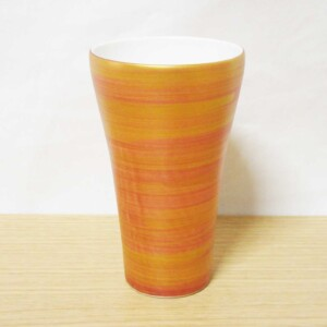 M銅金刷毛目 フリーカップ