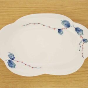 水引草 花型皿(大)