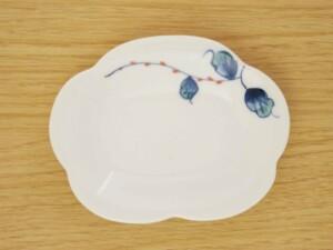 水引草 花型皿(小)
