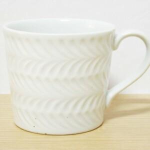 ローズマリー(白マット) マグカップ