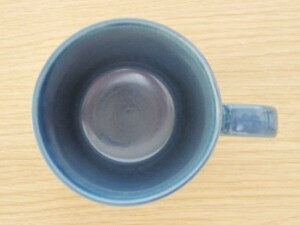ローズマリー(デニム) マグカップ 真上