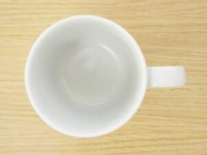 ローズマリー(白マット) マグカップ 真上