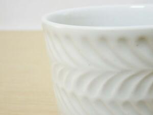 ローズマリー(白マット) マグカップ 接写
