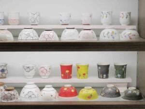 しのえい陶磁器のご飯茶わん&ゆのみコーナー3